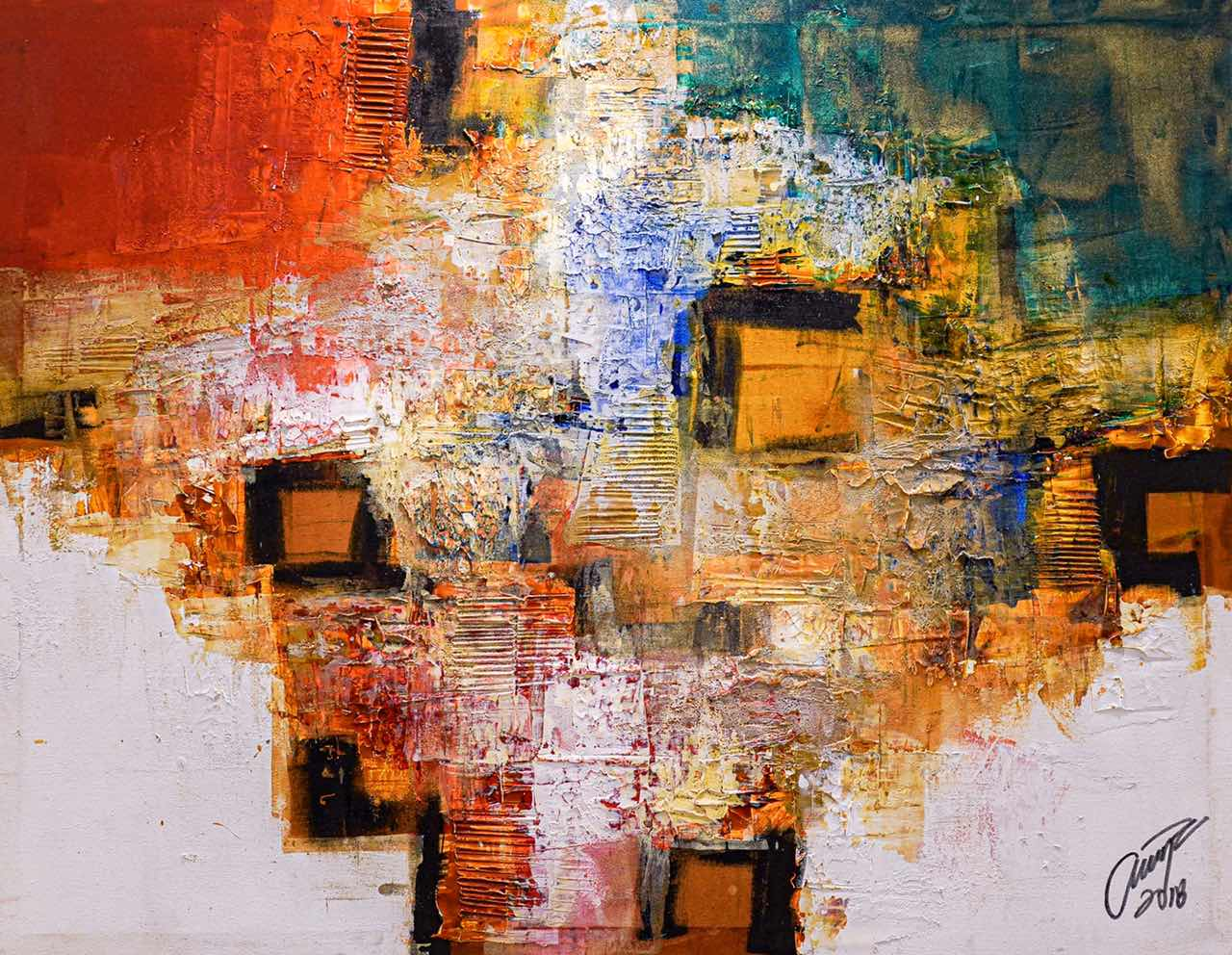 Contemporary Abstract Art with Ivan Acuna