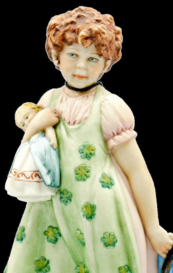 Girl W Dolls 2