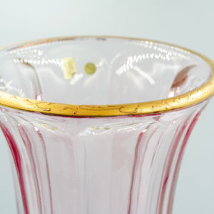 BAROCO VASE PAINTED GOLD/COLOR