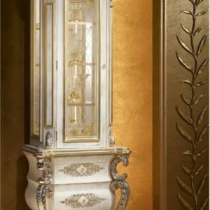 Aida Collection One Door Showcase