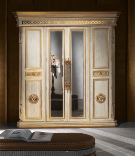 Aida Collection Gold Wardrobe