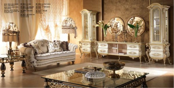 Aida Collection Living Room Set 2