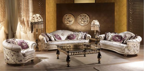 Aida Collection Living Room Set
