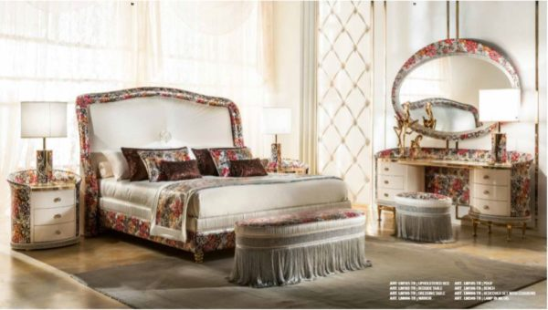 Cappelletti Tribute Floral Bedroom Set