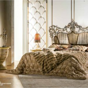 Cappelletti Tribute Gold Bedroom Set