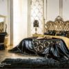 Cappelletti Tribute Gold And Black Bedroom Set