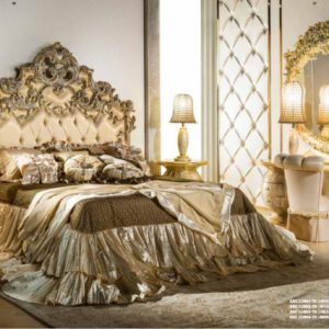 Cappelletti Tribute Pure Gold Bedroom Set