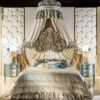 Cappelletti Tribute Royal Blue Bedroom Set