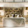Cappelletti Tribute White Gold Bedroom Set