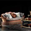 Coco Briarwood Living Room Set With Coffee Table