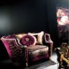 Experience Collection Armchair With Gold Brass Details