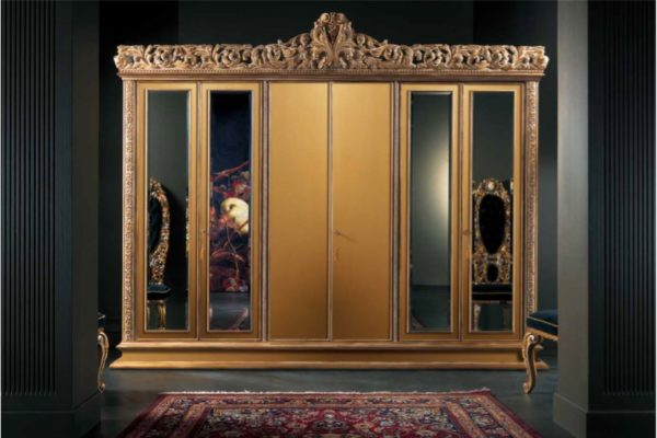 Experience Collection Gold And White Pearl Wardrobe