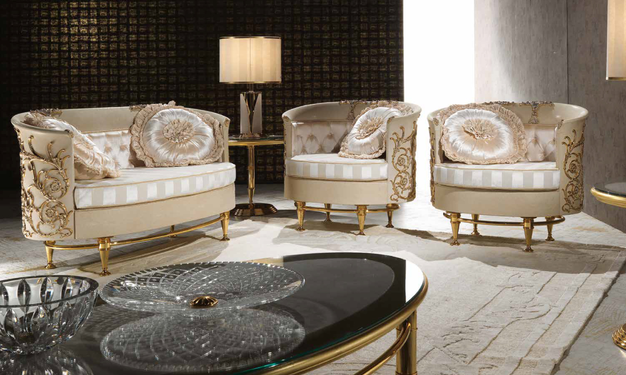 Living room chairs from Muebles Italiano's Lilium Living Set