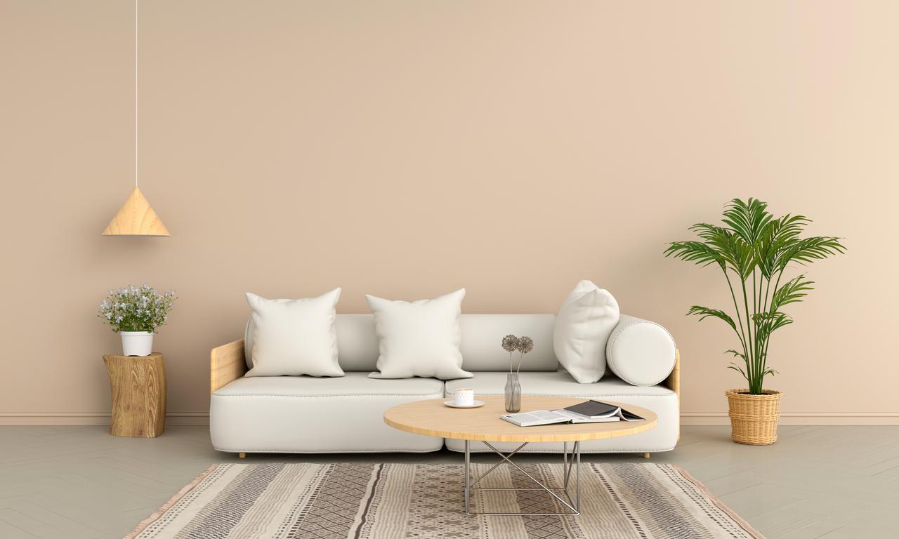 Natural modern living room