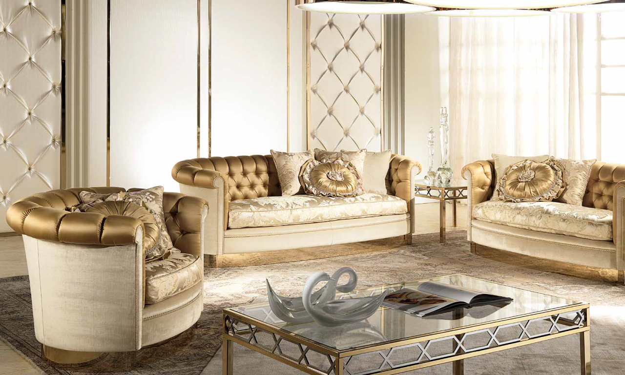 Living room set from Muebles Italiano's Lilium Living Set